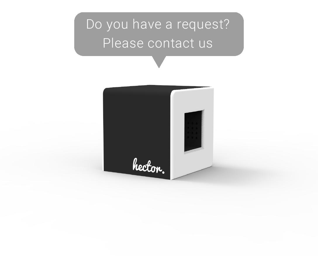 hector contact pop up EN